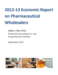 2012-13 Economic Report on Pharmaceutical Wholesalers and Specialty Distributors