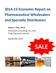 2014-15 Economic Report on Pharmaceutical Wholesalers and Specialty Distributors